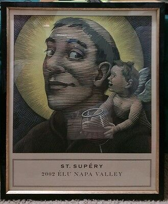 Napa Valley / 2002 / St. Supery , wine label lithograph