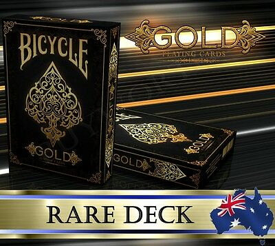 Gold Elite Playing Cards Luxury Premium Collection Series Edition Deck ~ Rare