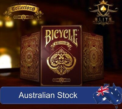 Collectors Elite Playing Cards Gold Foil Luxury Embossed Case Deck Made in USA