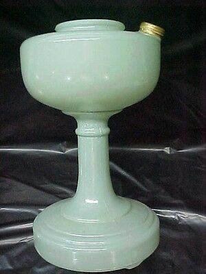 Aladdin Oil Lamp,  Jadeite Green