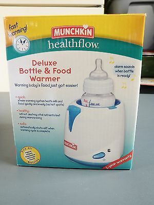 Munchkin Deluxe Bottle and Food Warmer-NIB