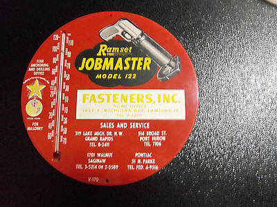 Fasteners. Inc. Jobmaster  Sign Thermometer