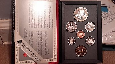 Absolutely Stunning 1990 Canada Double Dollar Proof Set