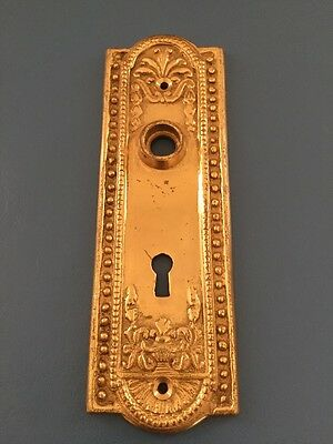 Solid Brass Door Plate