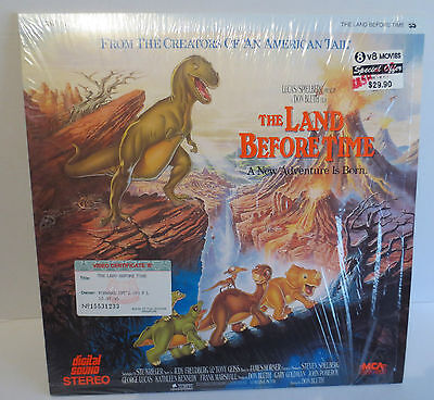 Laserdisc THE LAND BEFORE TIME *LD Laser Disc