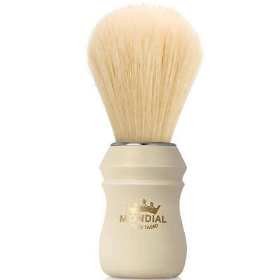 Mondial 1908 Boar Shaving Brush Faux Ivory