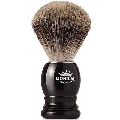 Mondial Best Badger Shaving Brush Black