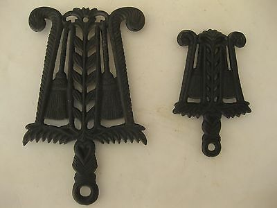 Cast Iron Trivets ( Matching Lot of 2 )