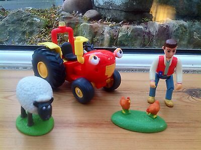 Springhill Farm Tractor Tom With Animals And Farmer Matt Figure Set - Lights!!!