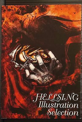 JAPAN Kouta Hirano: Hellsing Illustration Selection (Art Booklet)