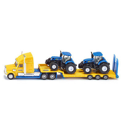 S#Siku Truck with Tractors Set 1:87 Toy Vehicle Model Kids Children Game 541839