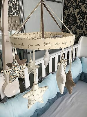 Mamas And Papas Musical Cot Baby Mobile very good condition