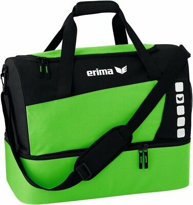 Erima Sport bag Club 5 with Base compartment Neon green - 723421