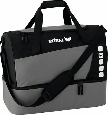 Erima Sport bag Club 5 with Base compartment Grey - 723339