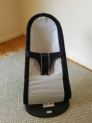 Baby Bjorn Bouncer - blue and grey