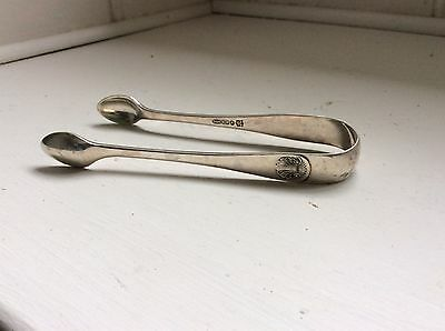 Antique Silver Plated  sugar tongs