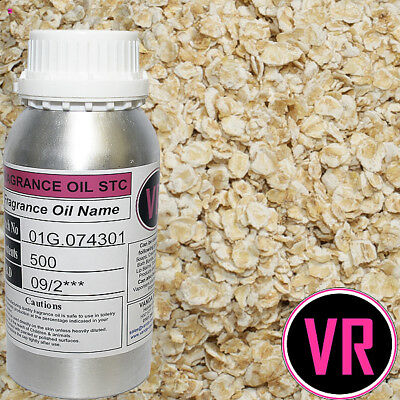 500g OATMEAL Fragrance Oil Home Fragrance Soaps Candles Creams