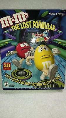 M'M's THE LOST FORMULAS The High Energy Action Math Game