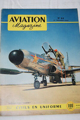 Aviation Magazine N°64- 1952- Lockheed F94 C Starfire Guerre De Coree
