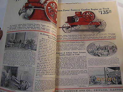 Sears Roebuck Co Gasoline Engines Catalog, Sparta Economy Engine Catalog