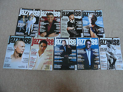 9 Selection Of Jazzwise 2008 Issues: February-December: Issue 116 -126