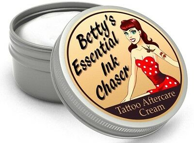 Tattoo Nachsorge Cicatrisante Crème Betty's Essential Ink Chaser  Après des soin