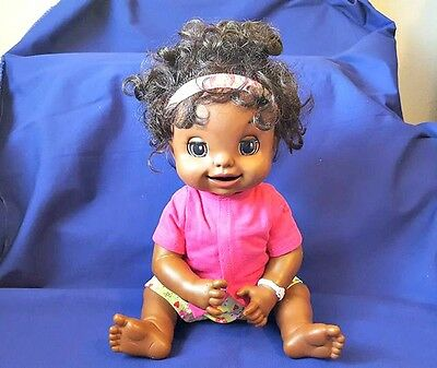 Hasbro African American Baby Alive Learn to Potty Interactive Doll