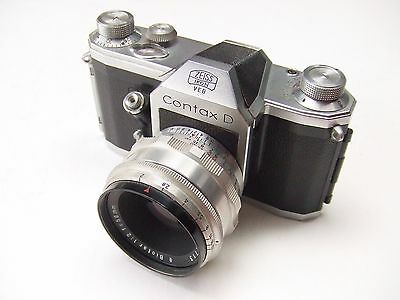 ZEISS IKON CONTAX D WITH f2 58mm BIOTAR LENS