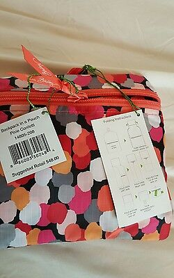 vera bradley  Backpack in a Pouch Pixie Confetti  NWT