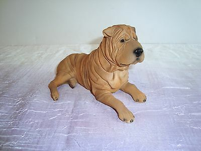 "North Light WADE Resin Figurine ~ SHAR-PEI ~ 6.5 x 3.25"" PREMIER DOG COLLECTION"