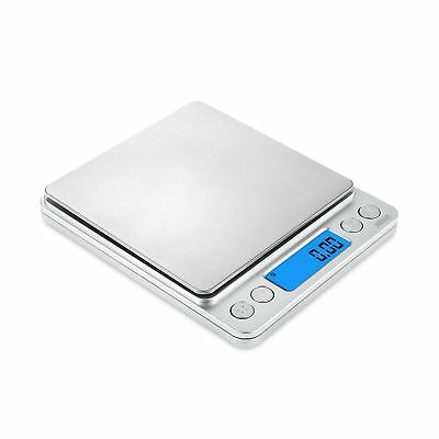 AMIR Digital Kitchen Scale 500g/ 0.01g Pro Cooking scale with Back-Lit LCD Di...