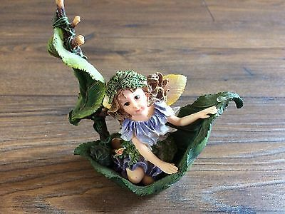"2001 Boyds Bears & Friends Faeriessence Figurine ""Drifting Along"" Fairy"