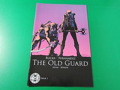 Old Guard #1 Image Comics 25th Blind Box COLOR VARIANT 1st print SOLD OUT