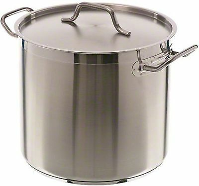 Update International (SPS-16) 16 Qt Induction Ready Stainless Steel Stock Pot...