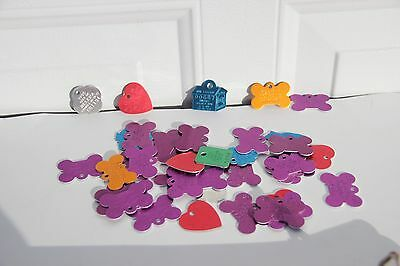 Dog Tags Montana License Craft 100 tags  all new assorted counties aluminum