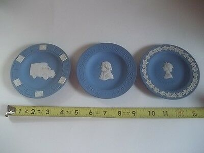 Vintage Wedgwood Jasperware Trinket Dish Lot Estate Find