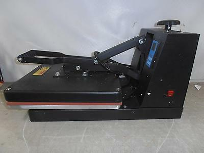 "Digital Sublimation T-Shirt Heat Press Machine, 15""x15"", Black"