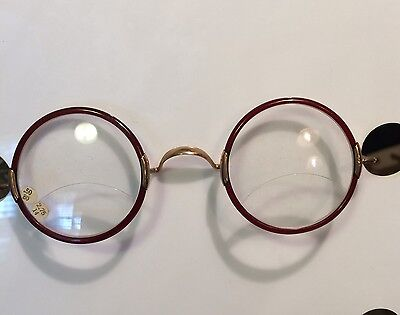 They're Back! Vintage Gold Filled Round Reading Glasses. Ideal for computer use