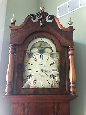 Antique 1820's Scottish Tall Case Clock