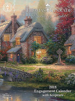 Thomas Kinkade - Painter Of Light - 2018 Weekly Engagement Calendar - 482961