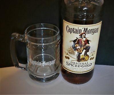 Captain Morgans  Rum Glass Tankard Brand New