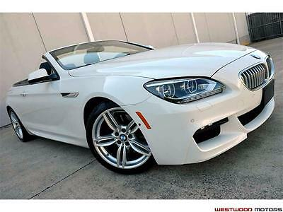 2014 BMW 6-Series 650i CAB M Sport Edition Executive Lighting DAP 14 650i Convertible M Sport Edition Executive Lighting Driver Assistance Plus NR