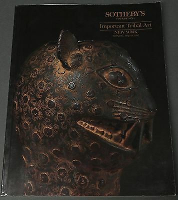 Sotheby's Important Tribal Art, African, May 18, 1992 with prices
