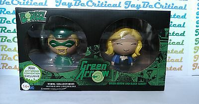 Funko Dorbz 2 Pack - Classic Green Arrow & Black Canary 2017 ECCC