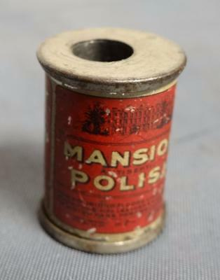 Mansion Polish Ad Pencil Sharpener For Leather of Motor Cars Furniture Tray 9-12