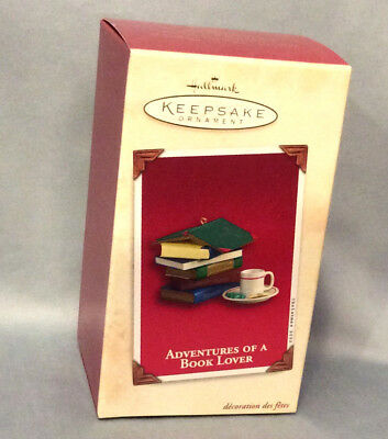 Hallmark Keepsake Ornament Adventures of a Book Lover 2003