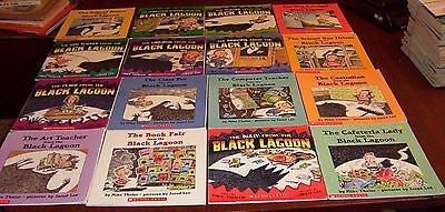 Lot of 16 From the Black Lagoon  Books by Mike Thaler