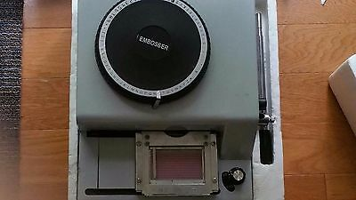 72 Character Pvc Card Punch Embosser Code Printer Manual Stamping DMS-72A