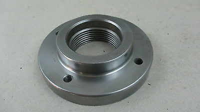 EXCELLENT ORIGIANL SOUTH BEND BACK PLATE 2 1/4 x 8 TPI FOR HEAVY 10 LATHE