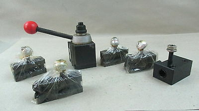 Excellent Quick Change Tool Post And Holders 4 Metal Lathe 250-100